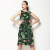 Leaves on Dark (Dress)