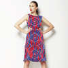Geometric in Blue (Dress)